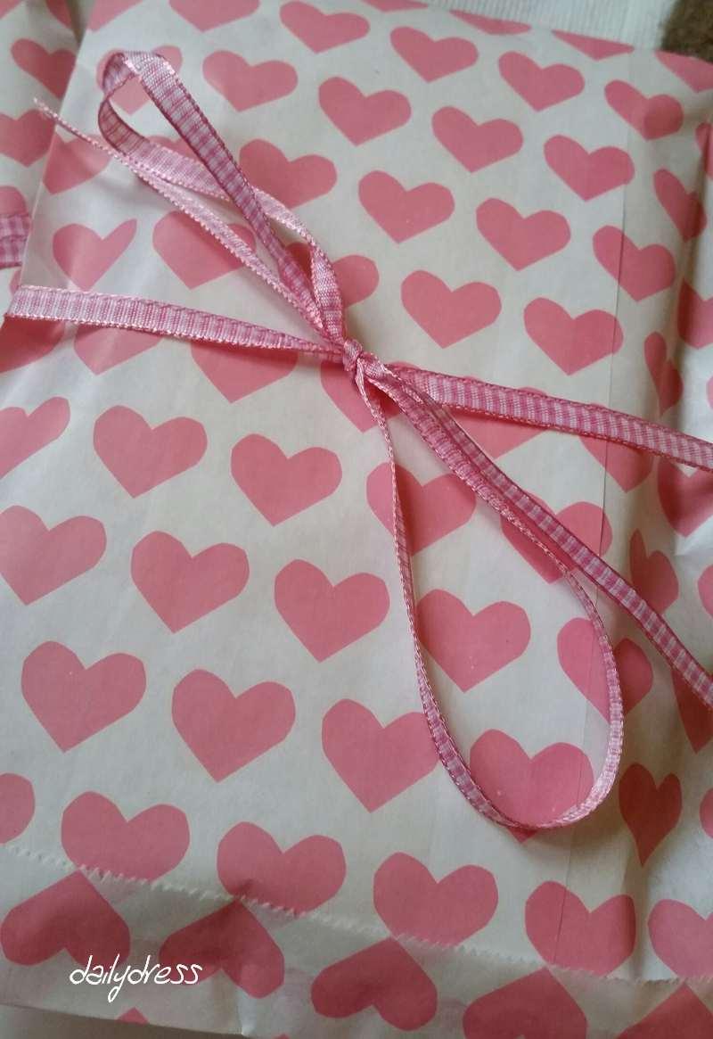Die Herzchentüten passen gut zum Muttertag