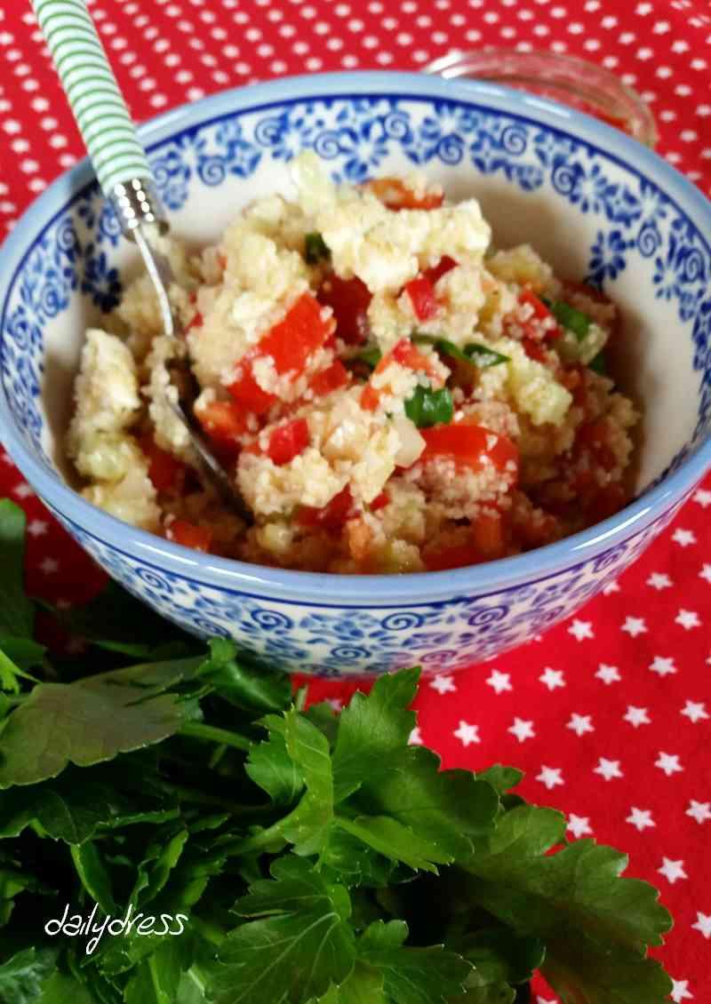 Glatte Petersilie verleiht dem Salat den richtigen Pfiff